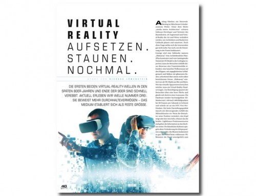 Virtual Reality, real Begeisterung